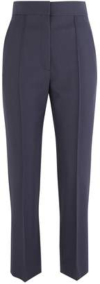 Boontheshop Wide cut wool trousers