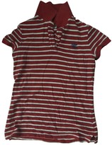 Tommy Hilfiger Red Cotton Top for Women