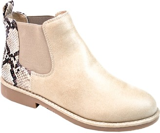 Seven Dials by White Mountain Pull-On Ankle Booties - Marisah