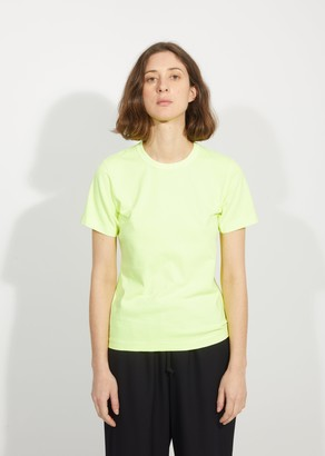 Comme des Garcons Garment Treated Cotton T-Shirt