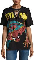 Freeze Spiderman Graphic T-Shirt- Juniors