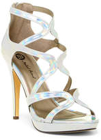Michael Antonio Riot Metallic Platform Dress Sandal