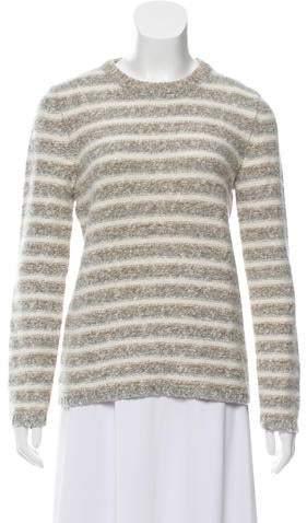Amina Rubinacci Striped Wool Sweater