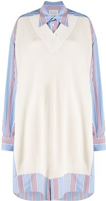 Maison Margiela striped jumper dress