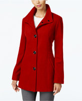 INC International Concepts Stand-Collar Peacoat, Only at Macy's