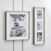 Crate & Barrel Brushed Silver Wall Frames