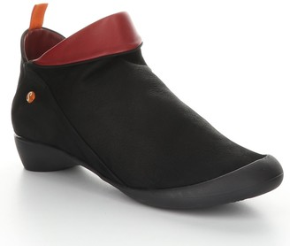 Fly London Leather Rubber Heel Ankle Boots - Far