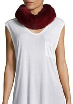 Saks Fifth Avenue Fox Fur Collar/Headband