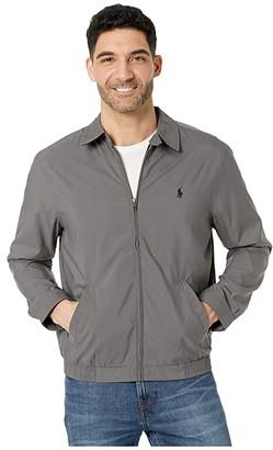 Polo Ralph Lauren Bi-Swing Windbreaker Jacket (Combat Grey) Men's Clothing
