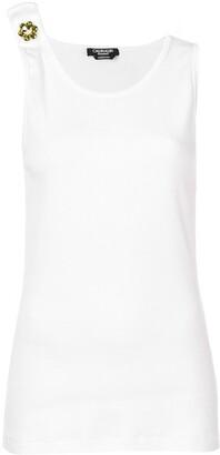 Calvin Klein embellished strap tank top