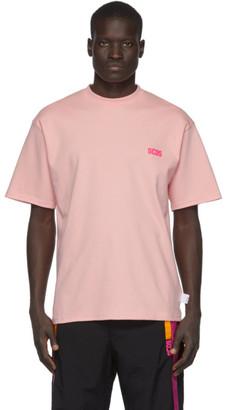 GCDS Pink Basic T-Shirt