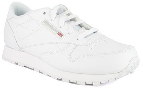 Reebok Classic CLASSIC LEATHER girls's Shoes (Trainers) in White
