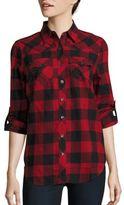 True Religion Cotton Plaid Shirt