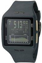 Vestal Unisex BRGOLD03 Brig Digital Display Quartz Grey Watch