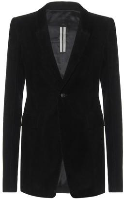 Rick Owens Extreme Soft cotton blazer