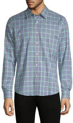 Hyden Yoo Plaid Button-Down Shirt