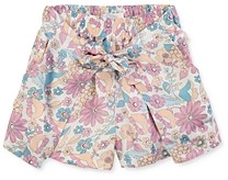 Chloé Girls' Floral Tie-Front Shorts - Little Kid, Big Kid