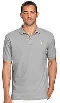 Polo Ralph Lauren Slim-Fit Solid Weathered Mesh Short-Sleeve Polo Shirt
