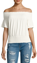 Plenty by Tracy Reese Off The Shoulder Smocked Top