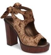 Very Volatile Women's Kimbra Cutout Ankle Tie Sandal