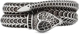 Gucci Garden silver snake ring
