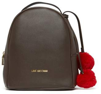Love Moschino Borsa Heart Pompom Backpack