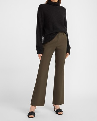 Express Mid Rise Editor Trouser Pant