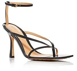 Bottega Veneta Bottega Venetta Women's Square-Toe High-Heel Sandals