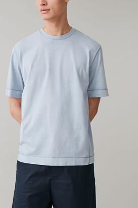 Cos Drop Sleeve Cotton T-Shirt