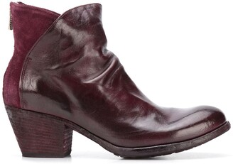 Officine Creative Giselle 8 mid-heel boots