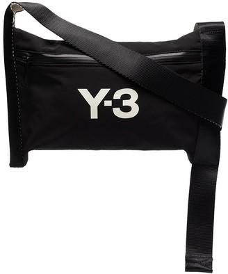 Y-3 CH3 logo-print shoulder bag