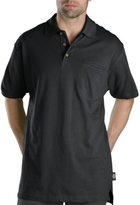 Dickies Men's Big Short-Sleeve Mini-Pique Polo Shirt