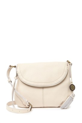 The Sak Buena Leather Small Flap Crossbody