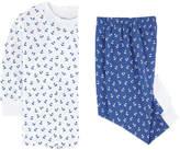 Kissy Kissy Printed Pima cotton two-piece pyjamas - Sail Away