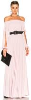 Alexander McQueen Sleeveless Maxi Dress in Pink.