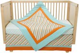 New Arrivals Inc. Piper 2 Piece Crib Set- Aqua