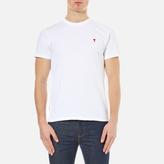 Ami Men's Heart Logo TShirt - White