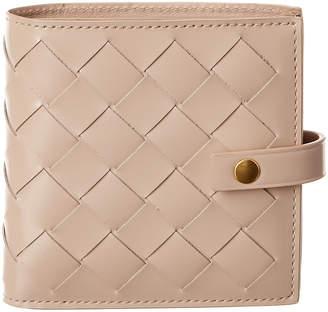 Bottega Veneta Bottega Venetta Mini Intrecciato Leather Wallet