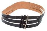 Michael Kors Multistrap Leather Belt
