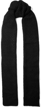 Zimmermann Unbridled Open-knit Mohair-blend Scarf