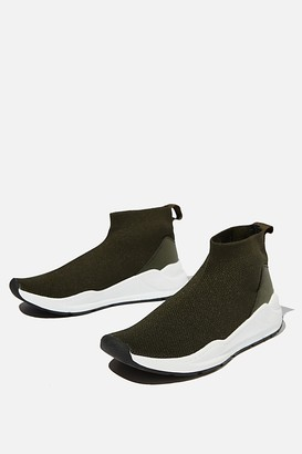 Cotton On Knitted Trainer