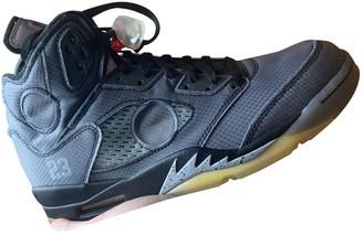 Nike x Off-White Jordan 5 Grey Cloth Trainers