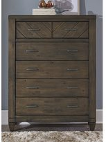 Liberty Modern Country Harvest Brown 6-Drawer Chest
