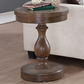 Laurel Foundry Modern Farmhouse Fortunat End Table Color: Gray
