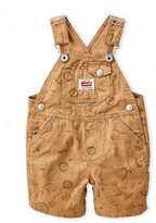 Levi's Infant Boys) Tricycle Print Overalls