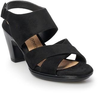 Croft & Barrow Silo Women's Ortholite High Heel Sandals
