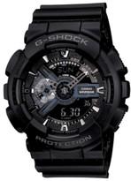 Thumbnail for your product : G-Shock Men's Analog Digital Black Resin Strap Watch, 55mm GA110-1B