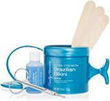 Sally Hansen Extra Strength Brazilian Bikini Waxing and Shaping Kit, 4.5 Ounce