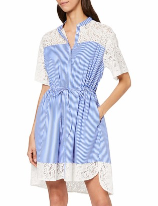 French Connection Women's Lace Mix Shirt