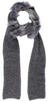 Inverni Alpaca-Blend Knit Scarf